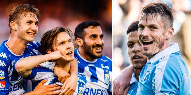 I kväll möts IFK Göteborg och Malmö FF på Ullevi.  Bildbyrån