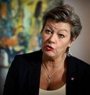 Ylva Johansson  Naina Helén Jåma/TT / TT NYHETSBYRÅN