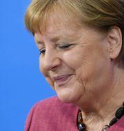 Merkel.  Annegret Hilse / TT NYHETSBYRÅN