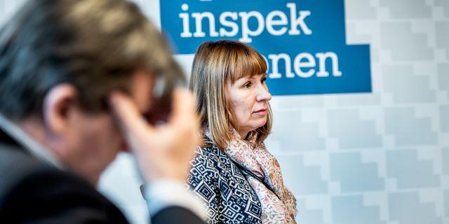 Spelinspektionens generaldirektör Camilla Rosenberg.  Lars Pehrson/SvD/TT / TT NYHETSBYRÅN