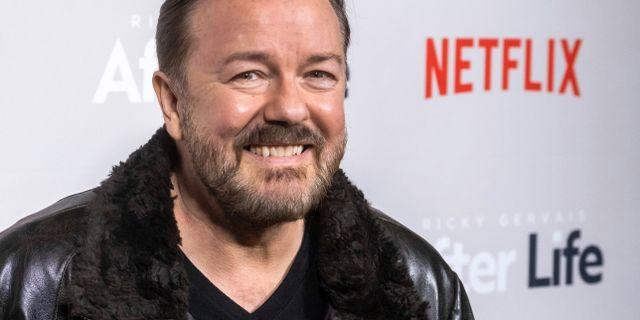 Ricky Gervais. Charles Sykes / TT NYHETSBYRÅN