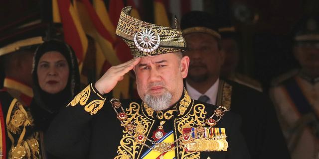 Malaysias kung Muhammad V TT