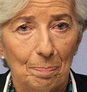 Arkivbild: ECB-chefen Christine Lagarde.  DANIEL ROLAND / AFP