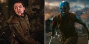 Bilder från Game of Thrones och Avengers. TT