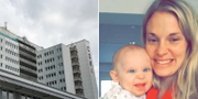 Centralsjukhuset i Kristianstad / Johanna Adolfsson med sonen Elliot TT/Privat