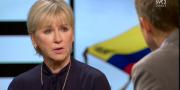 Margot Wallström i Agenda. SVT
