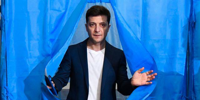 Volodymyr Zelenskij. GENYA SAVILOV / AFP