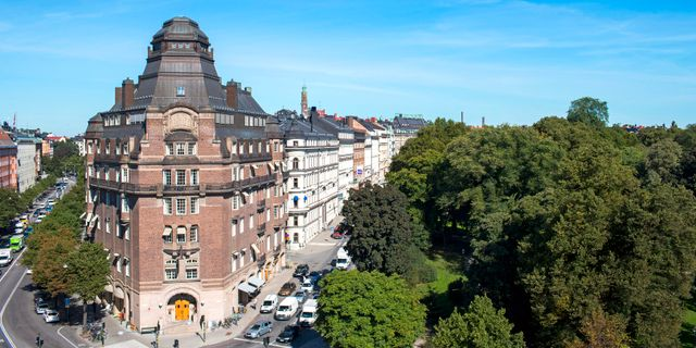 T-House påEngelbrektsplan 1 i Stockholm. Gustav Kaiser