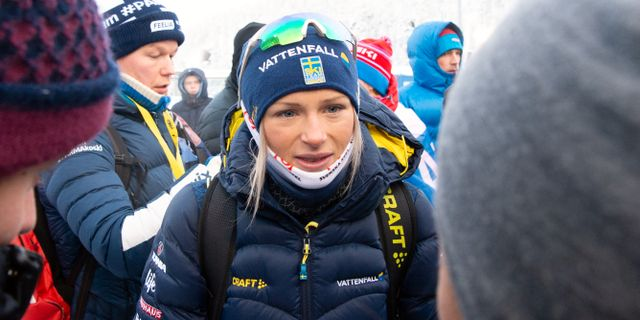 Frida Karlsson.  CARL SANDIN / BILDBYRÅN
