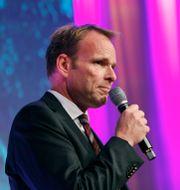 Jonas Bonnier vid utdelningen av Stora journalistpriset 2018. Christine Olsson/TT / TT NYHETSBYRÅN