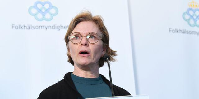 Marina Bergstrand, MSB. Fredrik Sandberg/TT / TT NYHETSBYRÅN