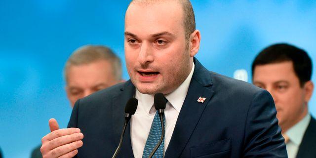 Skott mot georgiens president