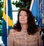 Utrikesminister Ann Linde. Amir Nabizadeh/TT / TT NYHETSBYRÅN