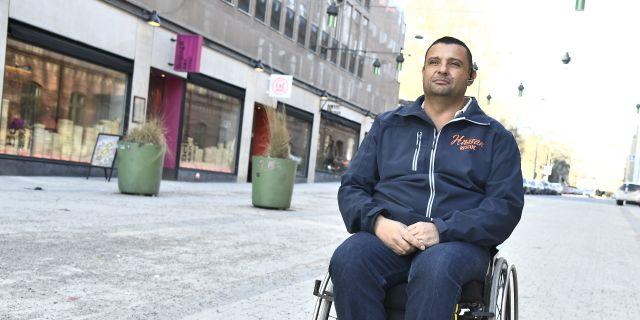 Hassan Zubier. Claudio Bresciani/TT / TT NYHETSBYRÅN
