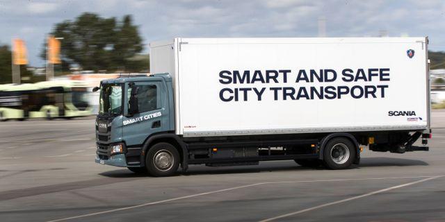 Stor potential för självkörande fordon inom godstransporter, menar expert. Thomas Johansson/TT / TT NYHETSBYRÅN