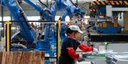 Illustrationsbild från fabrik i Kina.  TT / NTB Scanpix