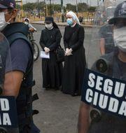 Polisen i Peru. TT