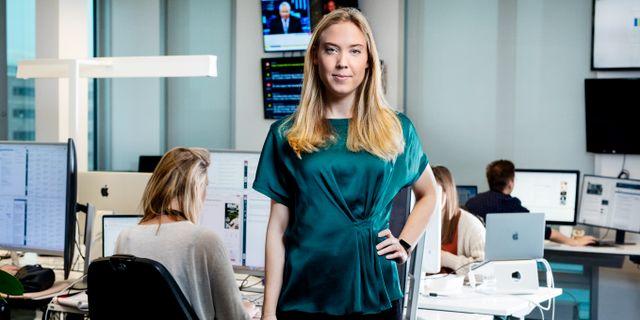 Helen Broman, förvaltare på Lannebo Fonder och gästkrönikör i Omni Ekonomi. Magnus Sandberg