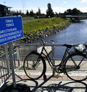 Arkivbild: Gränsövergången mellan Sverige och Finland i Haparanda, augusti 2020.  Erik Simander/TT / TT NYHETSBYRÅN