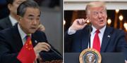 Wang Yi/Donald Trump.  TT