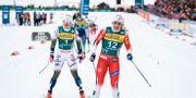 Jonna Sundling kom tvåa efter Maiken Caspersen Falla. VEGARD WIVESTAD GRØTT / BILDBYRÅN NORWAY
