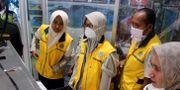 Flygplatser i flera länder har höjt säkerheten. Här en flygplats i Indonesien.  ANTARA FOTO / TT NYHETSBYRÅN