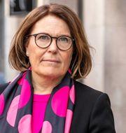 Svensk Handels vd Karin Johansson.  Svensk Handel