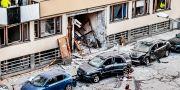 Explosion på Östermalm i Stockholm i januari.  Tomas Oneborg/SvD/TT / TT NYHETSBYRÅN