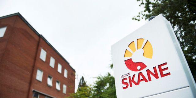 Region Skåne. Emil Langvad/TT / TT NYHETSBYRÅN