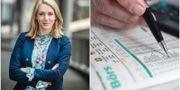 Nordnets sparekonom Frida Bratt  Lars Pehrson/TT och Fredrik Sandberg/TT