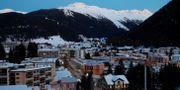 Vy över Davos och kongresscentret där WEF ska hållas i dagarna ARND WIEGMANN / TT NYHETSBYRÅN
