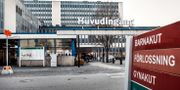 Huvudingången till Danderyds sjukhus Tomas Oneborg / SvD / TT / TT NYHETSBYRÅN