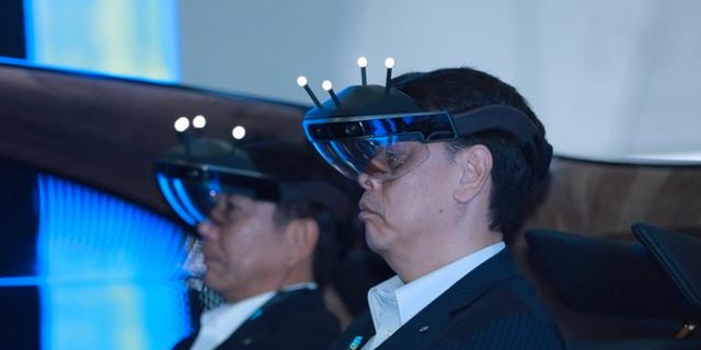 Förarens hjärna förstärks med artificiell intelligens Nissan Global (pressbild)