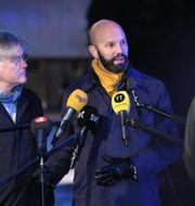 PTK:s förhandlingschef Martin Wästfelt och Svenskt Näringslivs vice vd Mattias Dahl. Foto:TT
