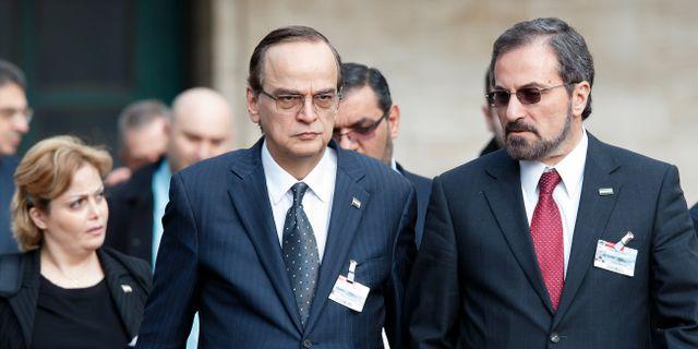 Syrienkonferensen i ny vaxel
