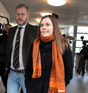 Katrín Jakobsdóttir Arni Torfason / TT NYHETSBYRÅN