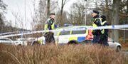 En kvinna med stickskador hittades på fredagsmorgonen utomhus i Mölnlycke, öster om Göteborg Björn Larsson Rosvall/TT / TT NYHETSBYRÅN