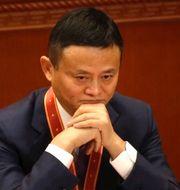 Jack Ma, Xi Jinping. Arkivbild.  TT