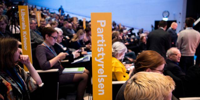 Liberalernas partistämma 2019 i Västerås.  Pontus Lundahl/TT / TT NYHETSBYRÅN