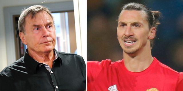 Ulf Karlsson och Zlatan Ibrahimovic. TT