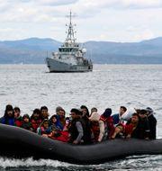 Arkivbild: Migranter ankommer till Lesbos Michael Varaklas / TT NYHETSBYRÅN