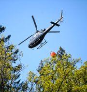 Helikopter. Fredrik Sandberg/TT / TT NYHETSBYRÅN