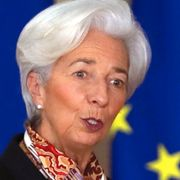 Christine Lagarde.  TT