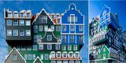 Amsterdams häftigaste hotell är ett pussel av 70 hus. Inntel Hotel Zaandam