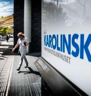 Illustrationsbild. Karolinska sjukhuset i Solna. Tomas Oneborg/SvD/TT / TT NYHETSBYRÅN