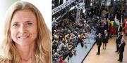 Paulina Dejmek-Hack/Bryssel igår. EU-kommissionen/TT