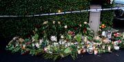 Blommor vid familjens hem vid Bjärred. Johan Nilsson/TT / TT NYHETSBYRÅN