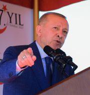 Erdogan. Nedim Enginsoy / TT NYHETSBYRÅN