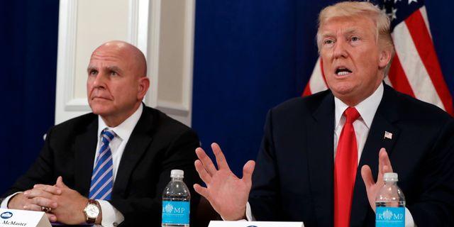 HR McMaster och Donald Trump Evan Vucci / TT / NTB Scanpix