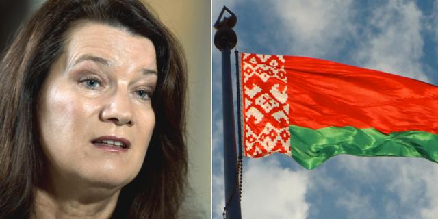 Ann Linde har beslutat att Vitryssland ska benämnas Belarus på av UD. TT / Wikimedia Commons